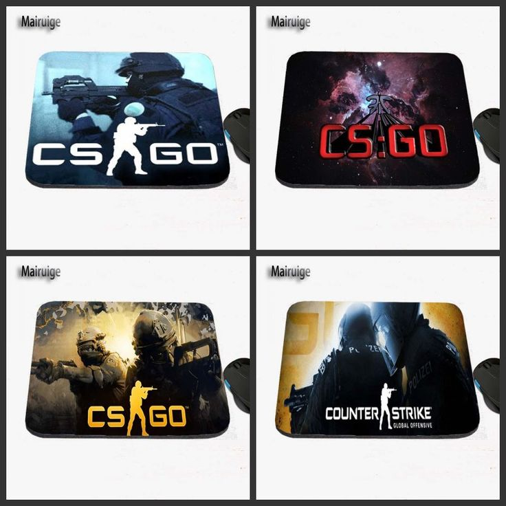 2017 CSGO Sniper Games LOGO Print Custom Antiskid Computer Desk Rubber Mouse Pad Table Mat, Can Be Used As A Gift #Affiliate