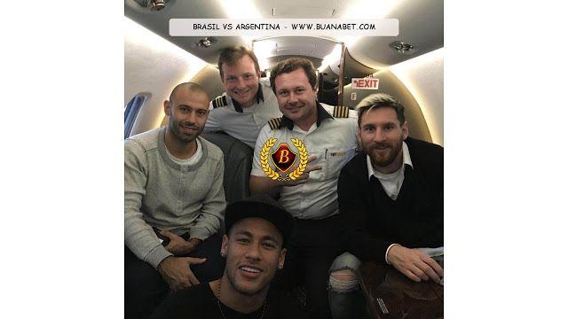 Saran Sepakbola: Lionel Messi ke Brasil dengan jet pribadi Neymar.