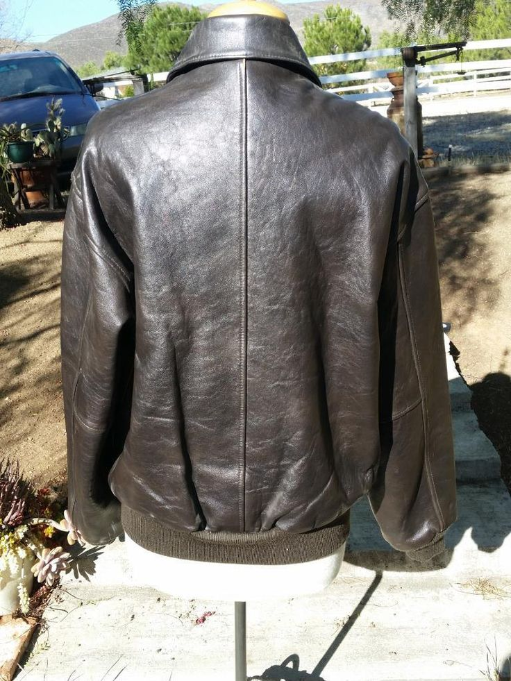 AVIREX Leather Jacket LA WEEKLY 20th Anniversary 1998 Type