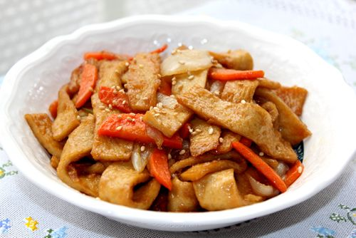 Stir-fried Fish Cake with soy sauce   All That Korea