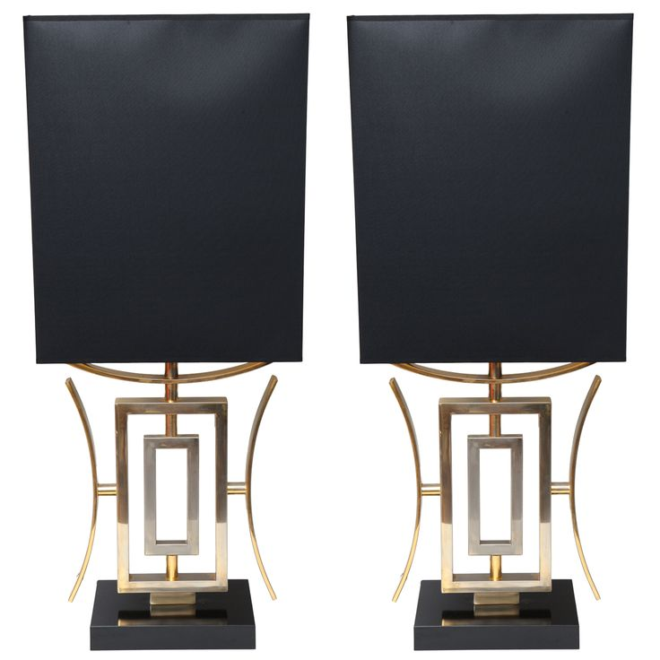 Fabulous Pair Of Grand Proportions Asiatic Table Lamps.