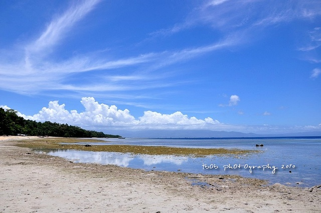 beauty of Bunaken beach at Manado, Indonesia