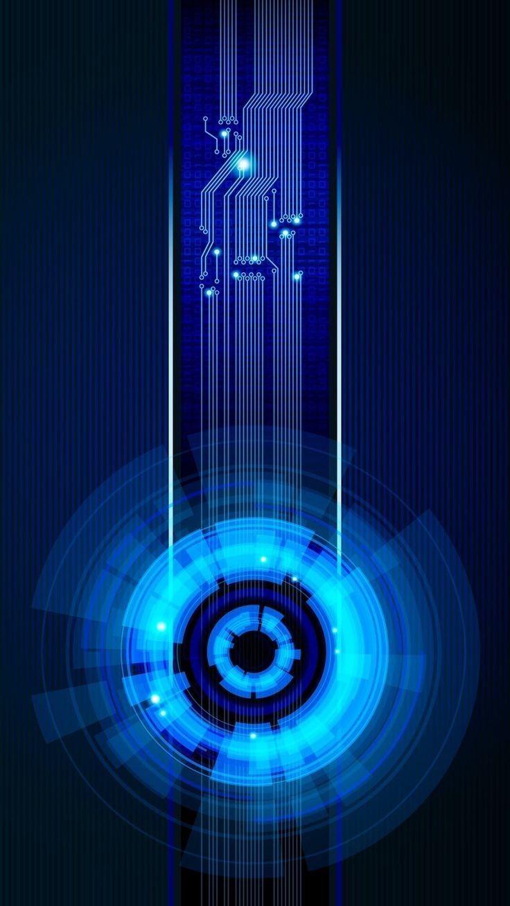 Pin By J Erdmann On Blue Technology Wallpaper Blue Wallpaper Iphone Wallpaper Images Hd