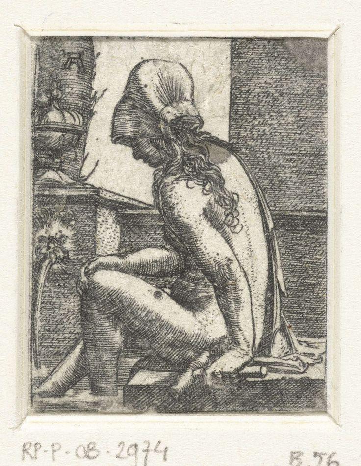 Badende vrouw, Albrecht Altdorfer, 1506