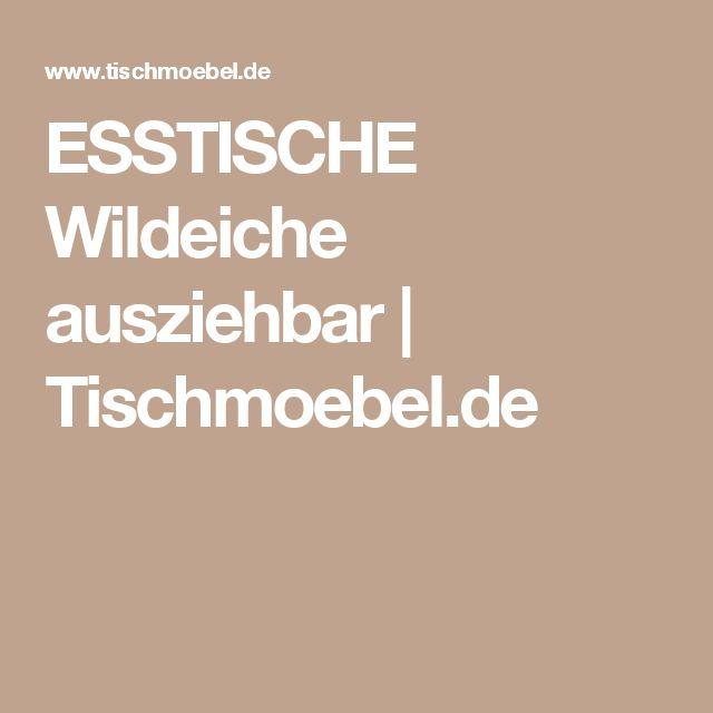 Ricardo Esstisch Rund ~ Best 20+ Esstisch Rund Ausziehbar ideas on Pinterest  Gartentisch rund auszi