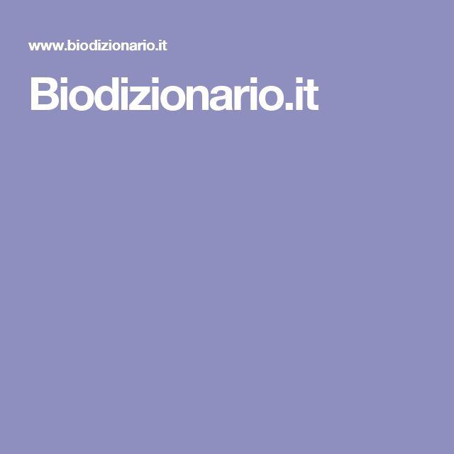 Biodizionario.it