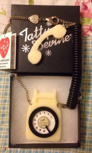 Tatty Devine Large Statement Telephone Necklace