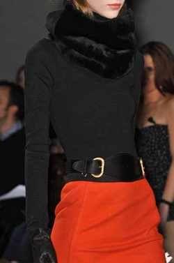 Black and orange | www.notjustpowder.com