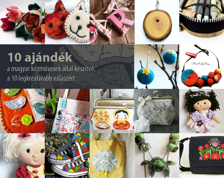 Nyeremények, 10 ajándék a magyar kézművesek által készítve a 10 legreatívabb válaszért.  http://www.breslo.hu/blog/kiserlet-3-lepesben-mi-tortenne-ha-egy-napon-mindenki-csak-magyar-termeket-vasarolna/