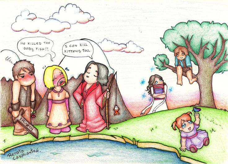 Legend of the Kids by Lillymonkey on DeviantArt