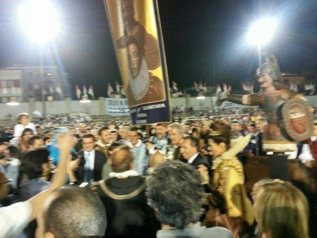 Quintana a Foligno - Il Giotti vince il Palio dei 400 anni http://tuttoggi.info/articolo/55781/