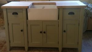 Free standing Kitchen sink unit cupboards | eBay