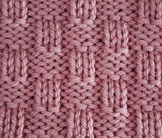 Beautiful 4x2 variation of the traditional 4x4 Basket Weave.