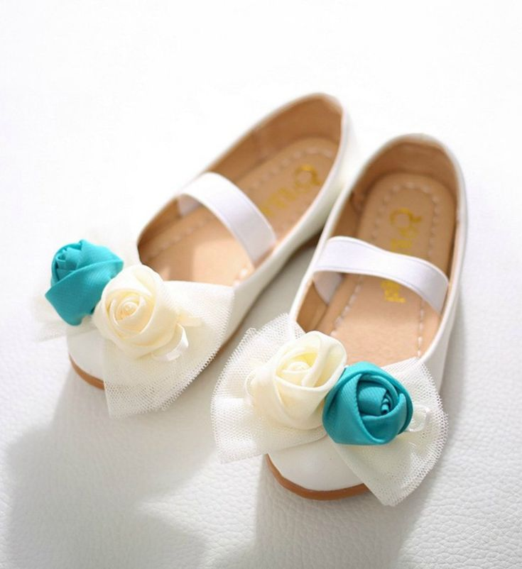 Toddler & Little Girl Shoes-White Casual Comfortable Toddler & Little Girl Flower Girl Shoes This very soft shoes made of PU leather, cotton & elastic band Perfect for weddings, birthday, communion, baptism, christmas or baby shower gift Fit from 2-10 years