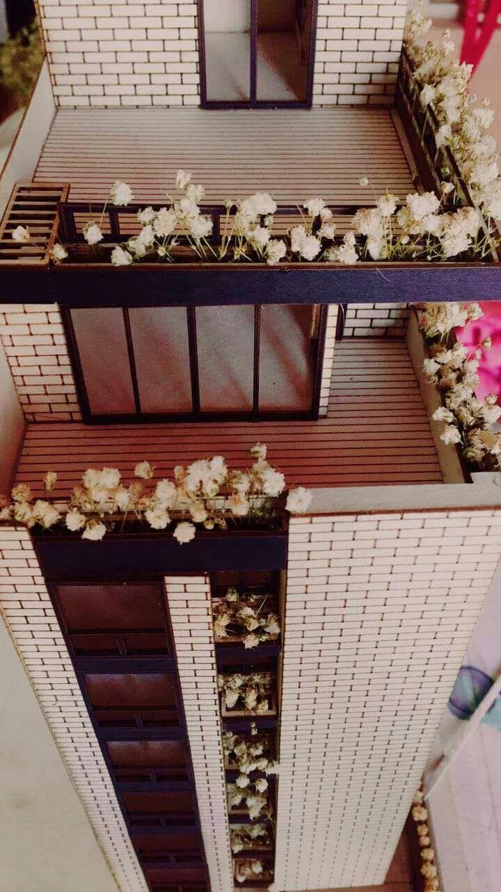Edificio multifamiliar la ceiba cucuta.  Diseño: arq yanelly ropero/ arq nataly becerra.