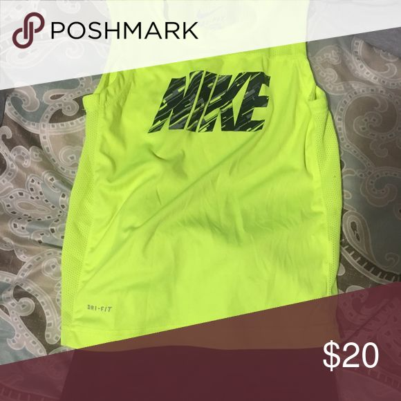Toddler Boys Nike Outfit With Summer right around the corner, this is the perfect outfit for a little boy on the go! Super light weight and flexible Nike dry-fit tank top and shorts. Only worn a few times! Excellent condition! Nike Matching Sets