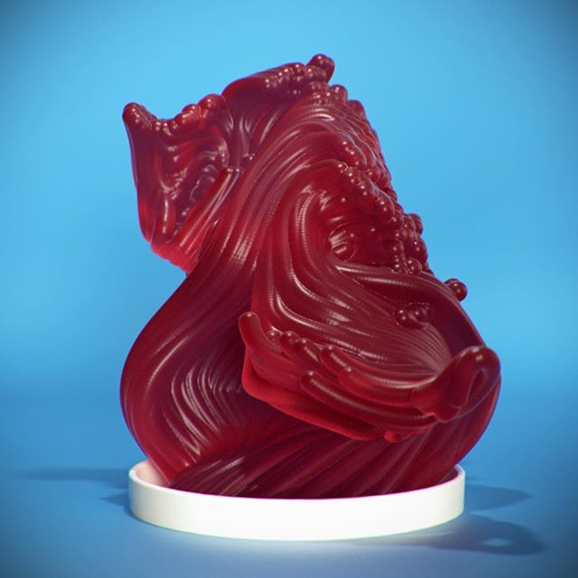 Subsurface Scattering Texture Study 10/30 #c4d #cinema4d