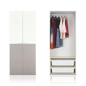 플레인옷장 80cm 수납형 - 한샘 plain wardrobe 80cm storage type - hanssem