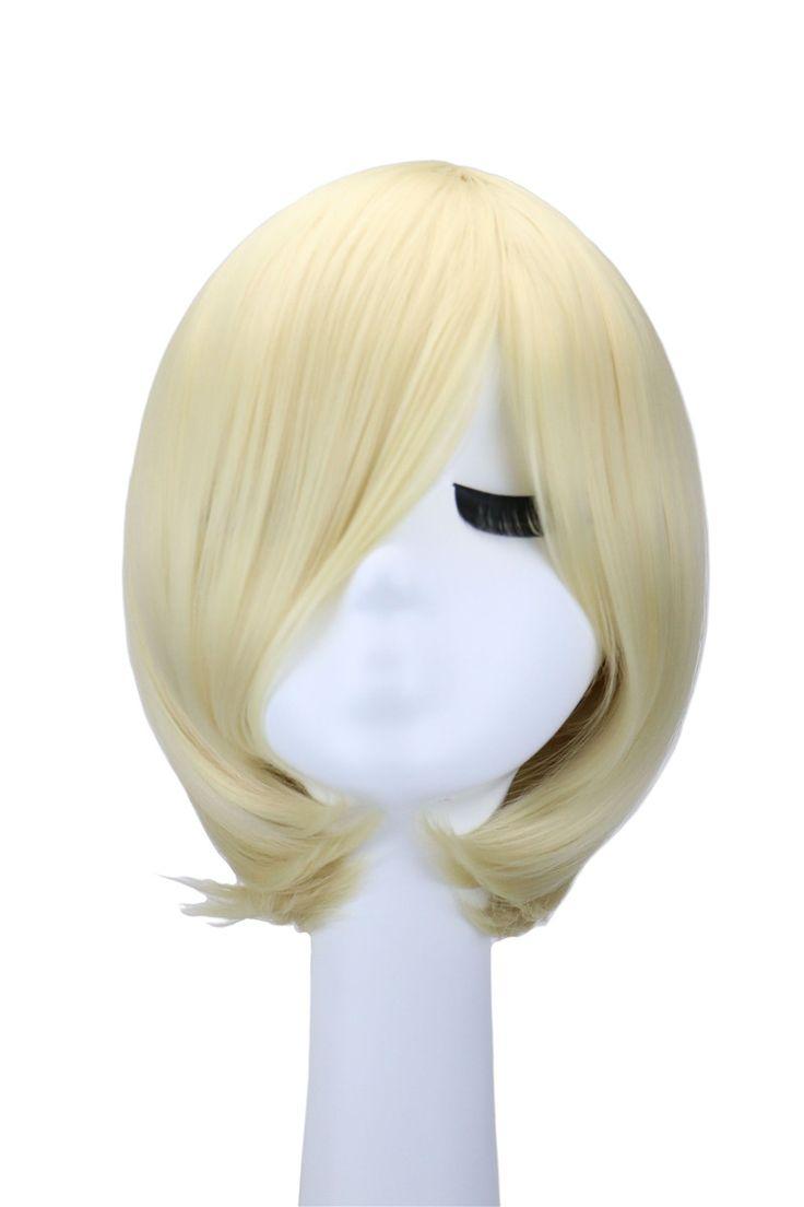 Short Anime Cosplay Wig For Yuri On Ice Yuri Plisetsky Heat Resistant Hair Blonde Wigs Party Peruca Pelucas