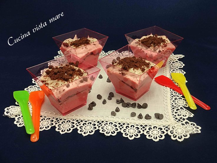 Mousse dolce al formaggio