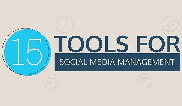 15 Tools to Make Managing Your #SocialMedia Strategy Easier:  https://blog.red-website-design.co.uk/2017/11/30/social-media-management-tools-infographic/  #OnlineMarketing