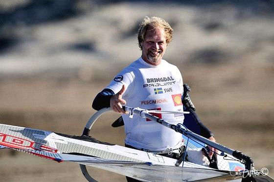 Anders Bringdal breaks the 50 knots speed windsurfing frontier