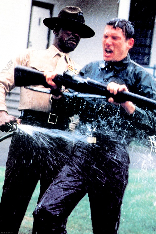 An Officer and a Gentleman with Louis Gossett, Jr. and Richard Gere (1982)