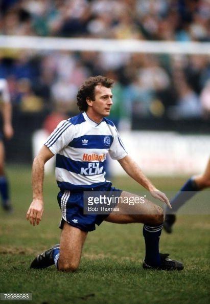 News Photo : 1st April 1988 Trevor Francis Queens Park Rangers