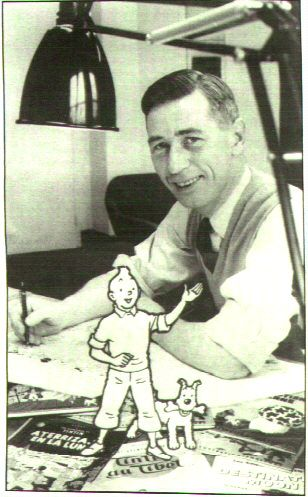Hergé and Tintin and Snowy • I love Tintin and Herge more than anything in this world • I love tintin forever • riawati