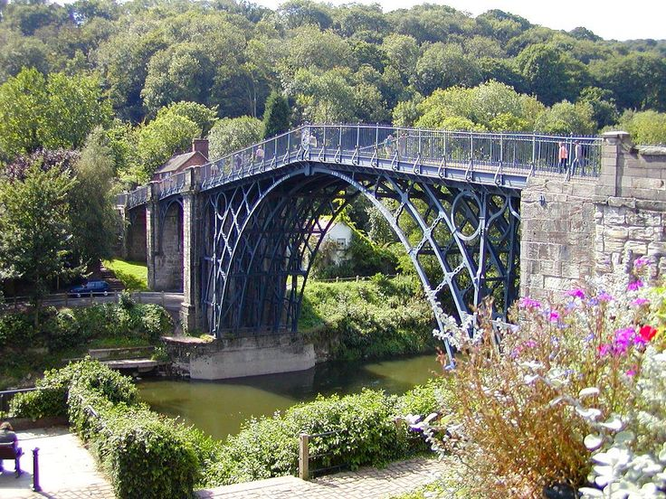 Shropshire, famous for its Iron Bridge.  We lived in a town called Donnington on...wait for it...Coronation Street!