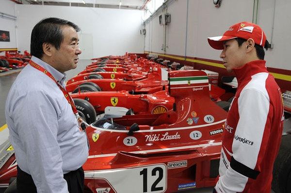Kobayashi, dopo la delusione per l'esclusione dalla F1, ecco l'occasione in Ferrari!