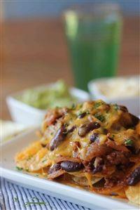 Bean and bolognaise nachos  Good Choice