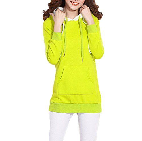 Wenmei -  Felpa con cappuccio  - Donna Fluorescence green... https://www.amazon.it/dp/B019TPMB6M/ref=cm_sw_r_pi_dp_x_hFW9xbT9XMKF0