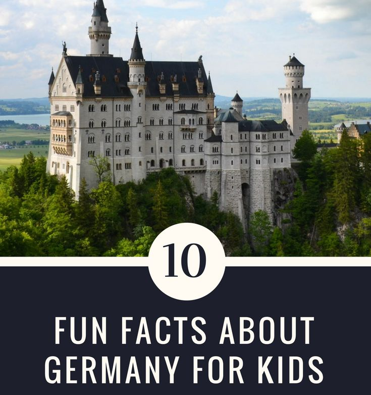 From castles and festivals to football and cars, learn about the land of poets and thinkers through these 10 fun facts about Germany.