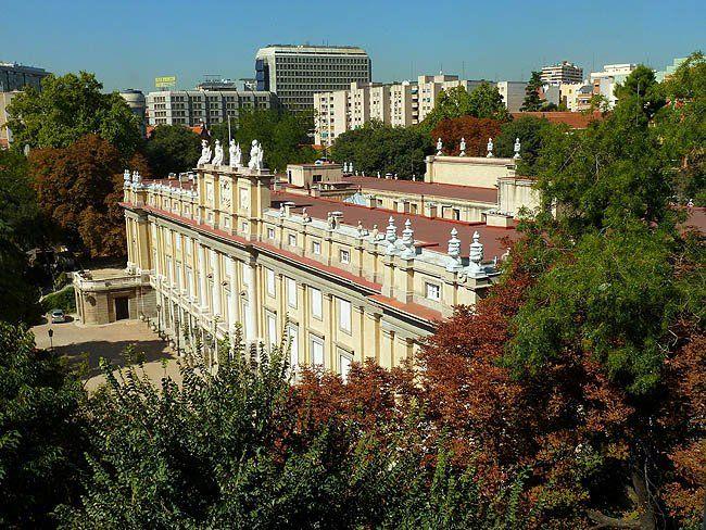 Palacio de Liria. Fue reconstruido tras la guerra por la Duquesa Cayetana. Ventura Rodriguez 1783