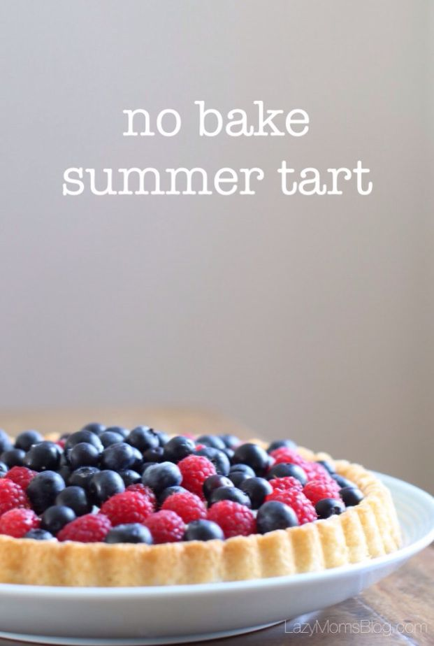 No bake #summer tart, #easy #fast and my family summer favourite # ...