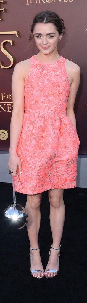 Maisie Williams at the Game of Thrones Season 5 premiere