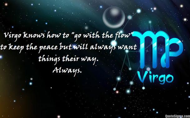Virgo quotes | Virgo traits | Quotes about Virgo sun sign ...
