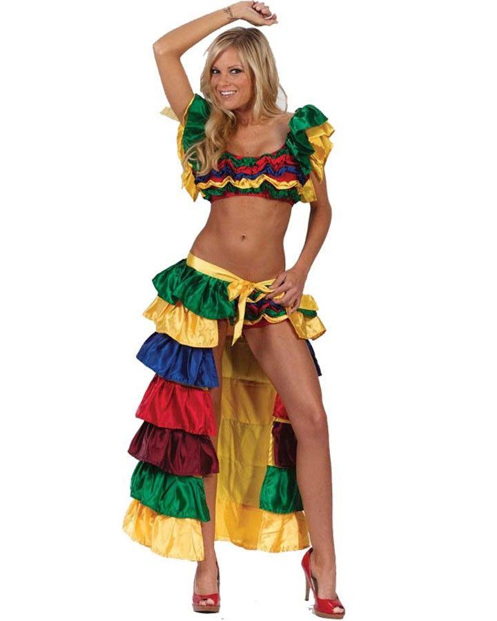 Cha Cha Dancer Womens Costume