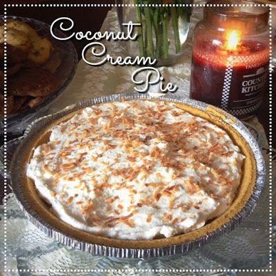 EmilyCanBake: Coconut Cream Pie www.emilycanbake.com
