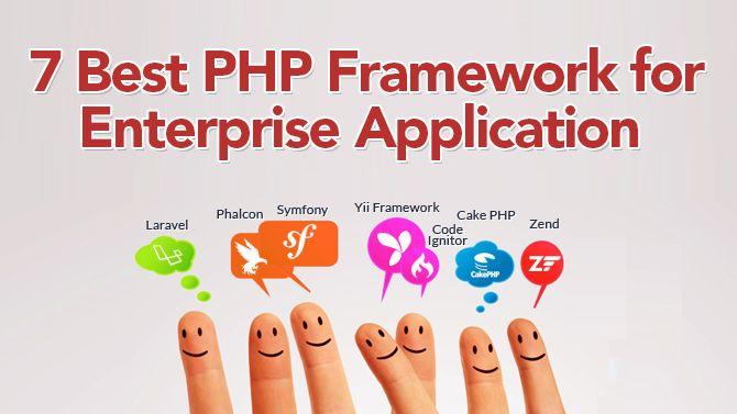 7 Best #PHPFramework for Enterprise Application #webdesignerphp