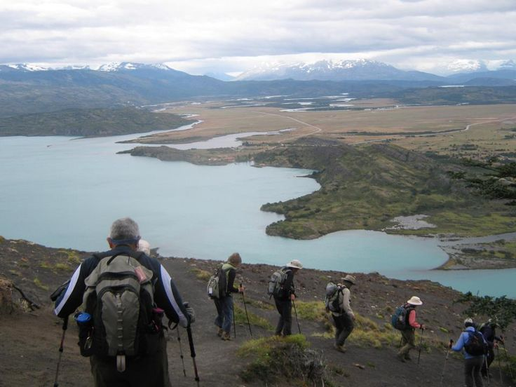 Hiking in Paine