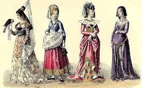 готический костюм средневековья - Поиск в Google