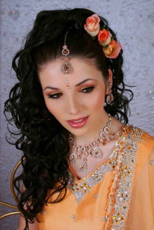 9 best indian wedding hairstyles images on pinterest