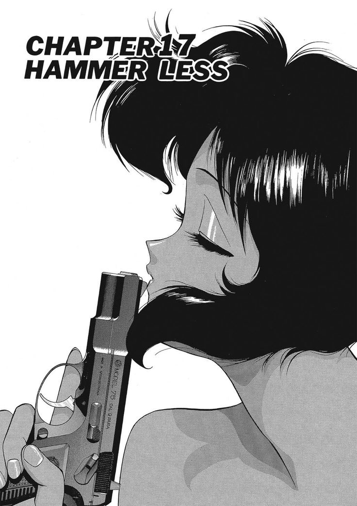 Gunsmith Cats Chapter 17 Character design girl, Old