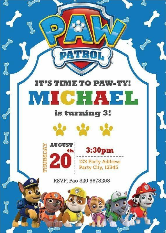 Tarjeta Cumpleaños Invitaciones Para Fiestas Infantiles