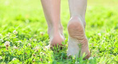 Walking barefoot on the ground for as little as 30 minutes per day can clear toxic electronic frequency from your body and help to relieve pain and stress.