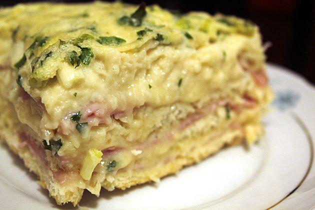 Sanduíche de forno com queijo e presunto | DigaMaria