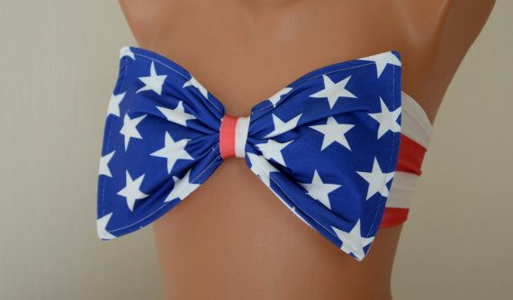 Hey, I found this really awesome Etsy listing at https://www.etsy.com/listing/193481231/paddedthiner-back-american-flag-bow