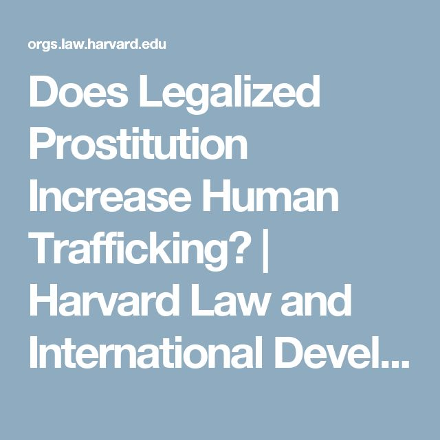 a comparison of legal prostitution and illegal prostitution A legalized system of prostitution that mandates health checks and certification only for women and not for clients is blatantly discriminatory to women women only health checks make no public health sense because monitoring prostituted women does not protect them from hiv/aids or stds, since.